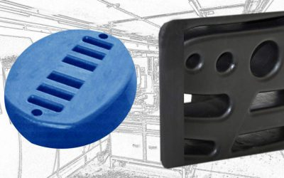 Customized moulded parts made from cellular Polyurethane