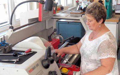 Long-time employee at asma plastics technology PUR