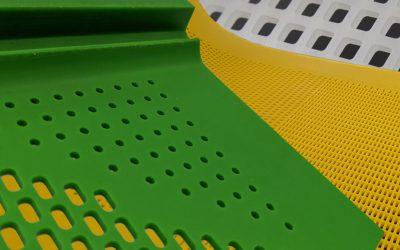 Polyurethane flip-flow screening mats – AsmaScreen